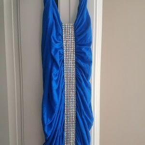 Sky Vegas Rhinestone dress